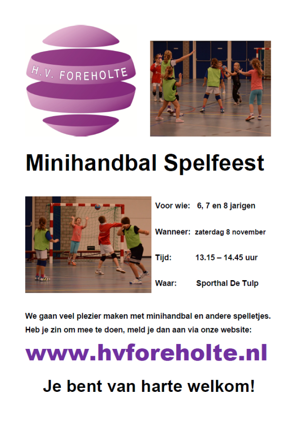 Minihandbal Spelfeest 4