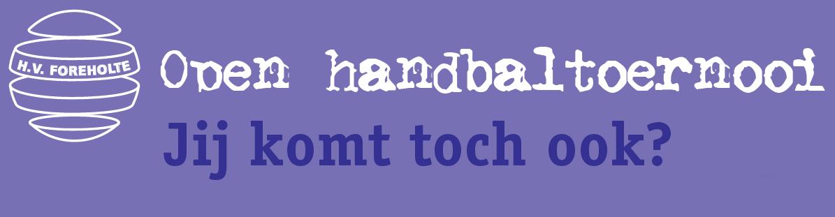 Open Handbaltoernooi