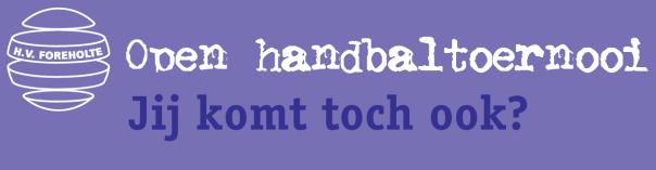 open handbaltoernooi 2016